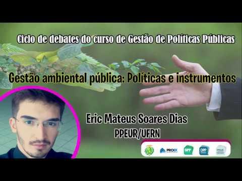 Gestão ambiental pública | CICLO DE DEBATES – 16/10/2018