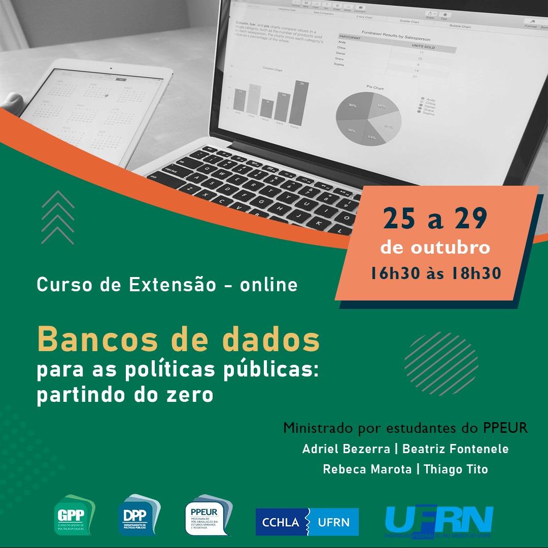 Curso De Extensão – Banco De Dados Para As Políticas Públicas