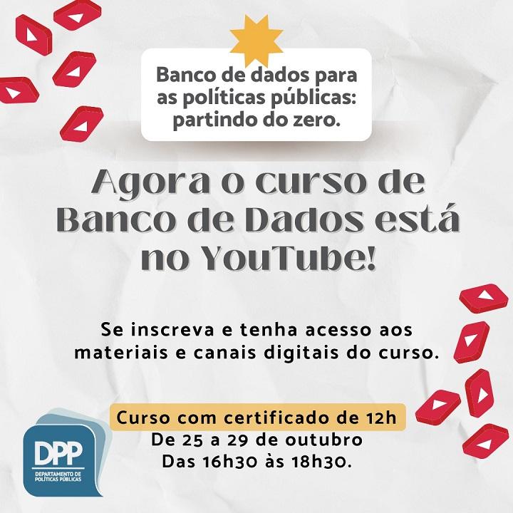 Curso De Banco De Dados Agora No Youtube