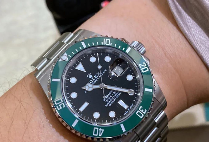 2020 Rolex Submariner 126610lv Hulk Green