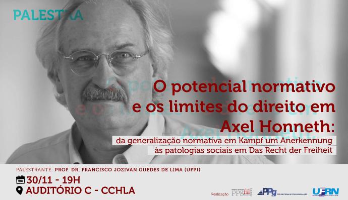 palestra: O potencial normativo e os limites em Axel Honneth