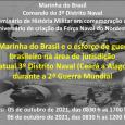 Professores de História do CCHLA participam de seminário sobre Marinha do Brasil e a 2ª Guerra Mundial